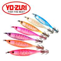 "Кальмарница YO-ZURI Squid Jig ""Crystal Ultra"" Aurora Y2 95мм фото"